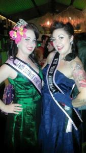 Our lovely mentors Miss Kitty Sapphire and Miss Dee Meanour.