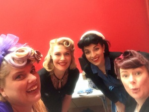Pinup Huddle! With Miss Wurple, Miss Von Ruby and Miss Stormy <3