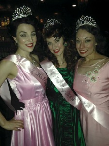 With these beauties: Miss Rouge Pearl and Miss Stormy Winters