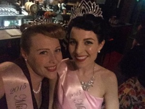 Glammed and crowned on up with Miss Roxie Snow!