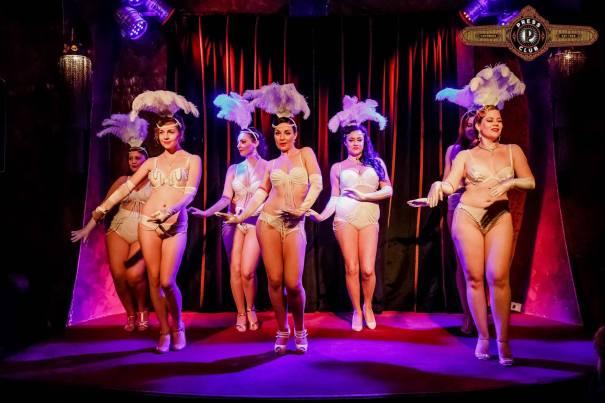 Sunday Night Burlesque Press Club